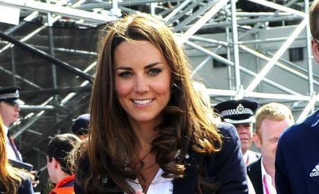 Kate Middleton Blue Blazer