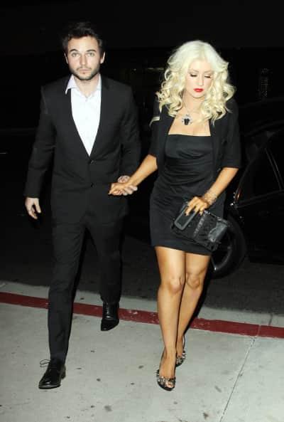 Matt Rutler and Christina Aguilera