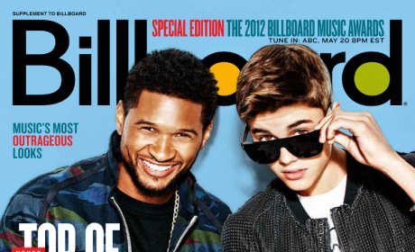 Justin Bieber and Usher Billboard Cover