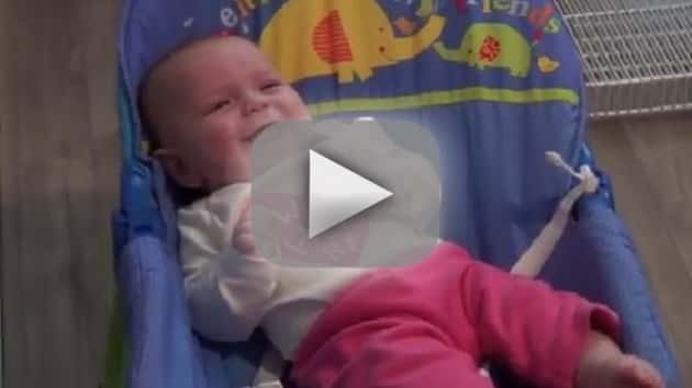 Baby Laughs at Power Drill