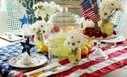 American Flag Tablecloth Suggestion Sparks Outcry, HGTV Apology