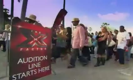 """Nick Voss Gets in """"Trouble"""" on The X Factor"""