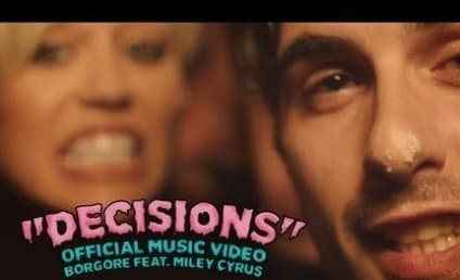 "Miley Cyrus Stars in Cake-Based Music Video for ""Decisions"""