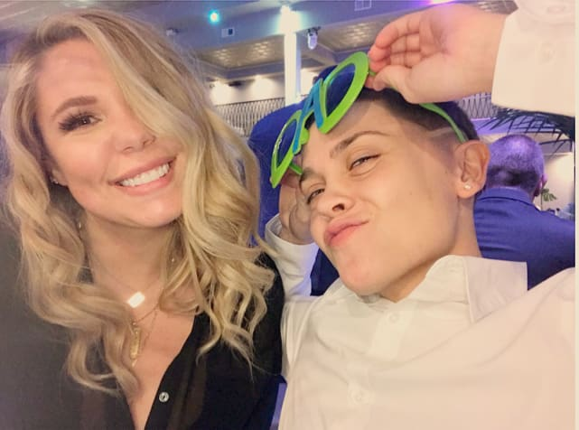 Kailyn lowry with dominique potter