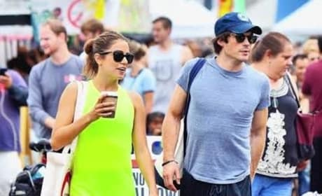 Ian Somerhalder, Nikki Reed Dating
