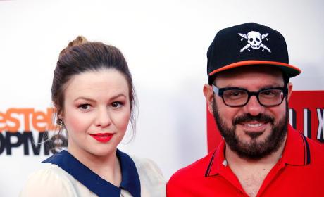 Amber Tamblyn and David Cross Photo
