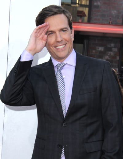 Ed Helms at Hangover III Premiere
