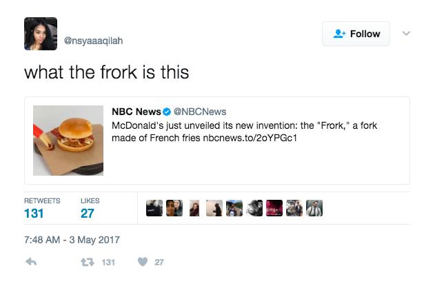 Frork puns