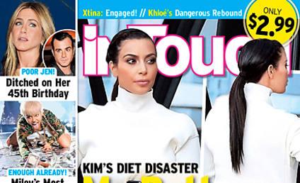 Kim Kardashian Blasts Tabloid Butt Story: Get a Life!