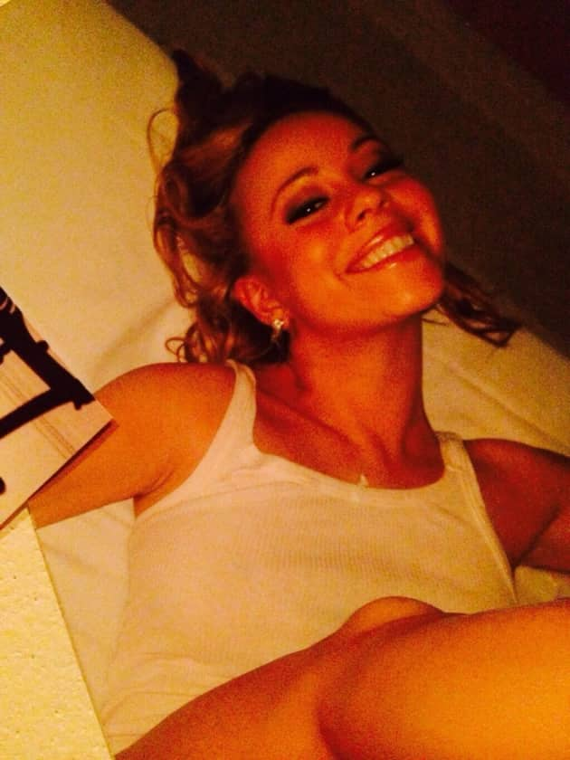 Mariah Carey Fake Selfie