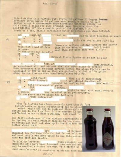 Coke Recipe