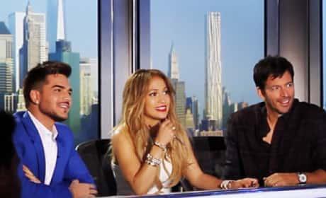 Adam Lambert on American Idol Season 14