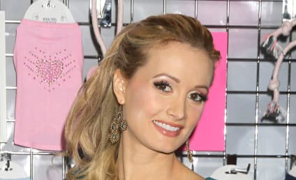Holly Madison: Also Hospitalized With Morning Sickness!