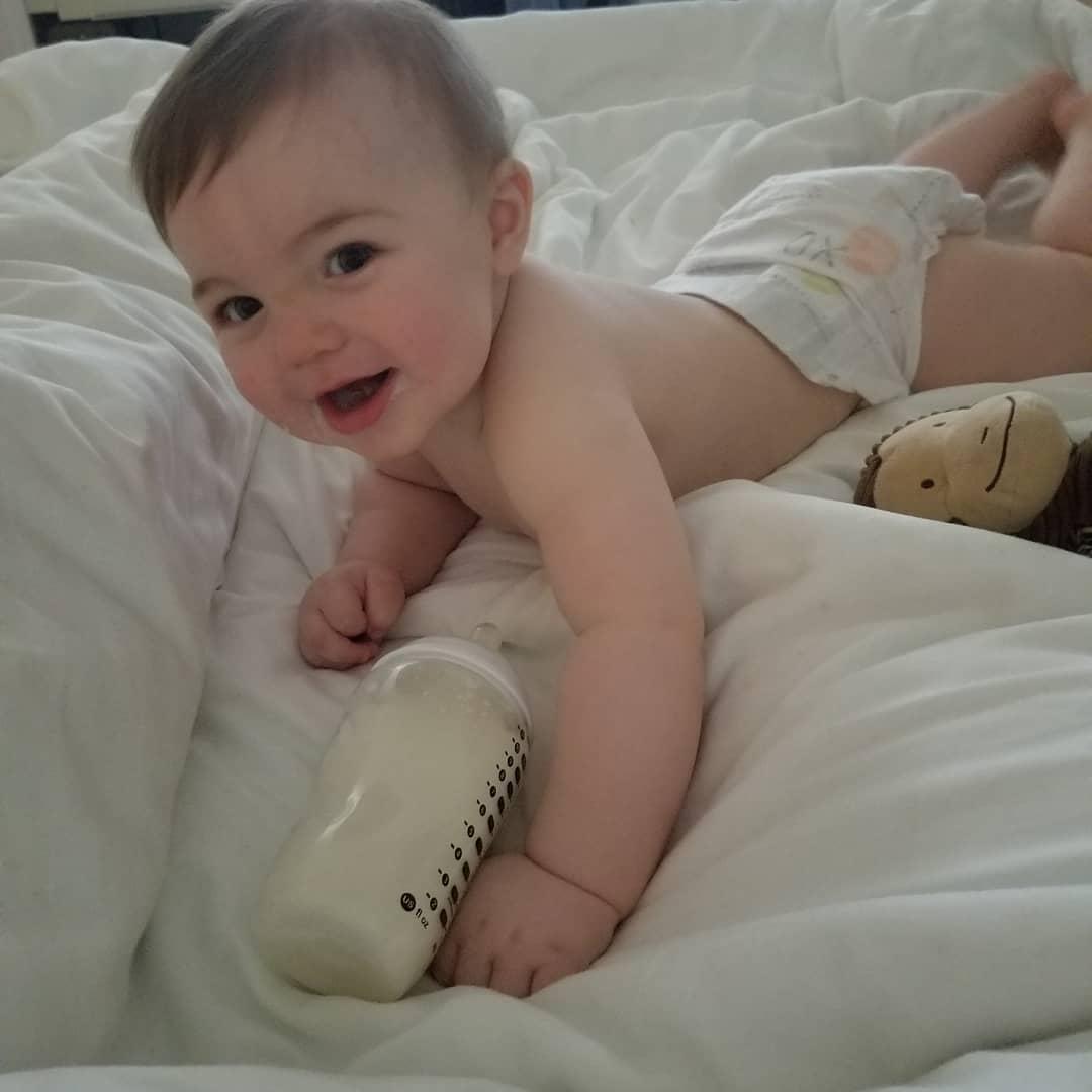 Photo of Amber Portwood & her Son James Andrew Glennon