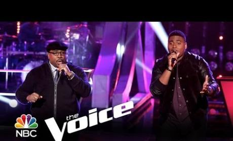 "T.J. Wilkins vs. Biff Gore: ""Ain't Too Proud to Beg"" (The Voice)"