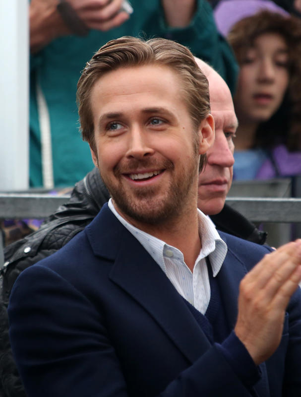 Ryan Gosling Attends Steve Carrell's Hollywood Walk of Fame Ceremony