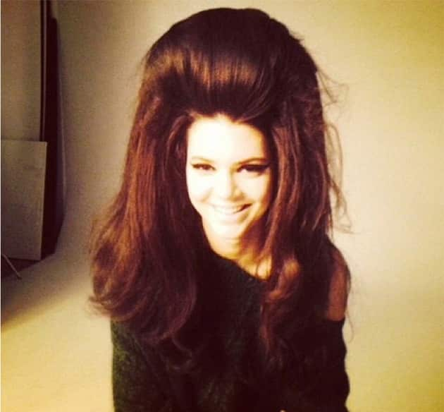 Kendall Jenner Huge Hair Photo
