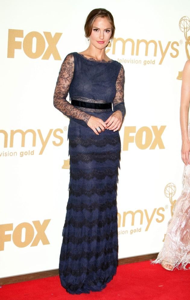 Minka Kelly Emmys Dress