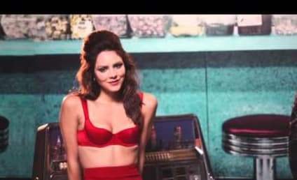 Katharine McPhee Licks Lips, Releases First Video in Years