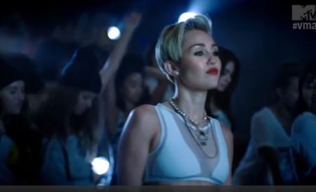 Miley Cyrus VMA Ad
