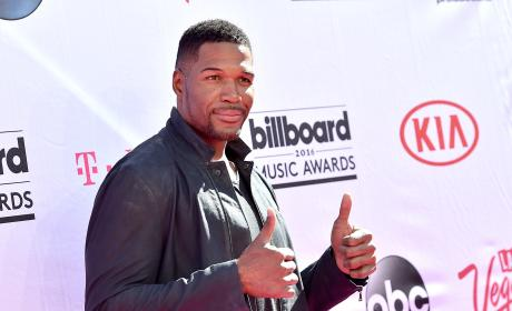 Michael Strahan at the Billboard Music Awards