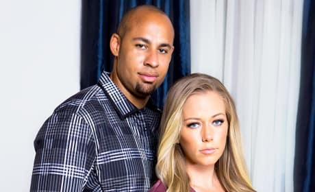 Kendra Wilkinson and Hank Baskett Photograph