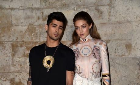 Zayn Malik with Gigi Hadid