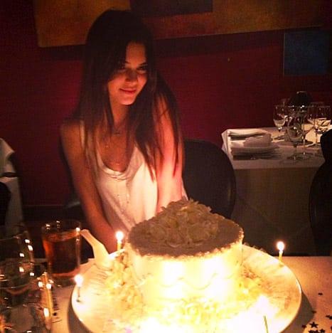 Kendall Jenner Birthday Cake