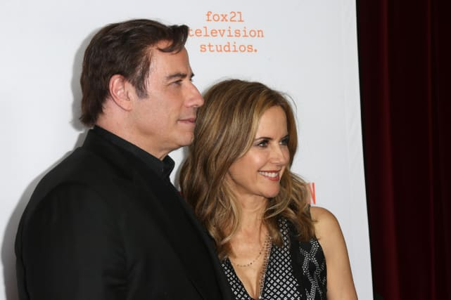 John travola and kelly preston