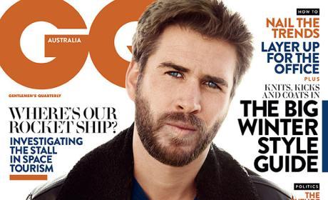 Liam Hemsworth GQ Cover