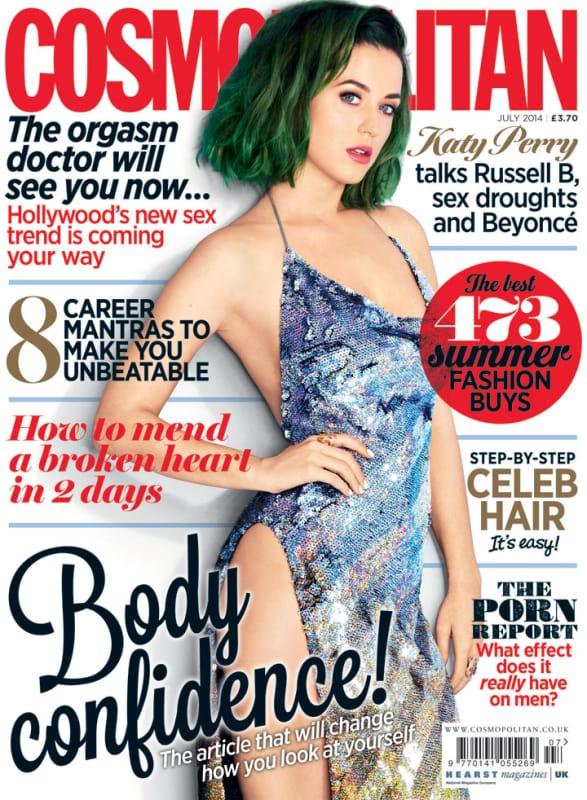 Katy Perry Cosmopolitan Cover 2014