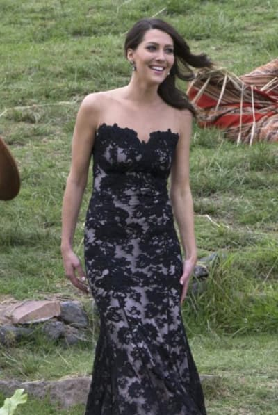 Becca Kufrin on The Bachelor Finale