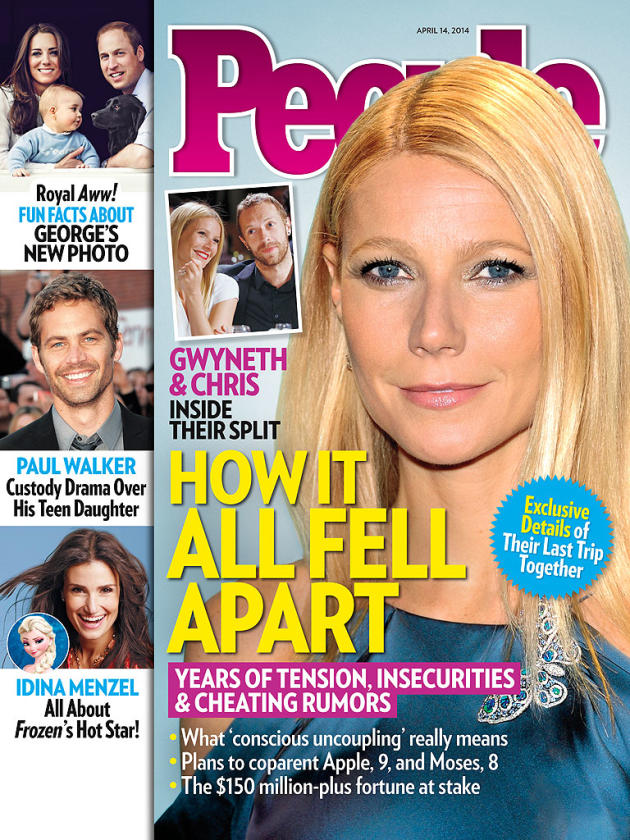 Gwyneth Paltrow: People Magazine