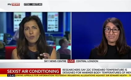 Two Women Argue That Air Conditioning Is Sexist: WATCH!