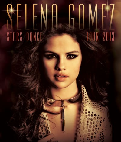Selena Gomez Tour Poster
