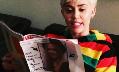 Miley Cyrus Fights Avril Lavigne!