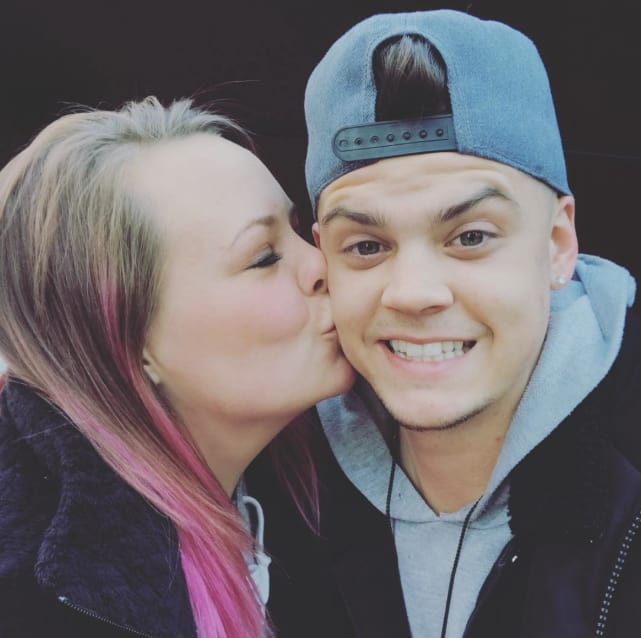 Catelynn lowell tyler baltierra on instagram