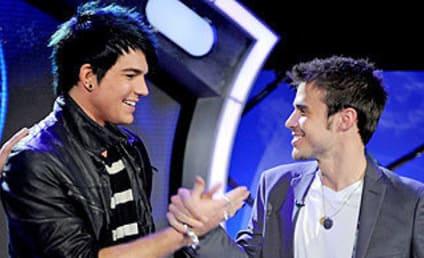 Adam Lambert and Kris Allen Face Media, Each Other