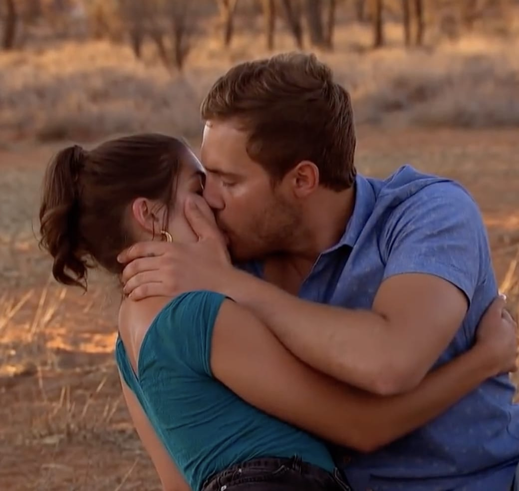 Image result for hannah ann peter weber kiss