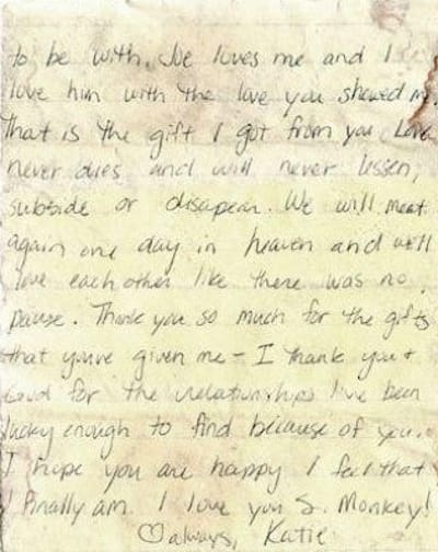 15 Most Absurd Breakup Letters Ever Page 2 The Hollywood Gossip