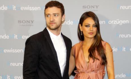 Mila Kunis, Justin Timberlake Photo