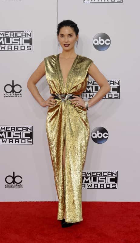 Olivia munn at the american music awards