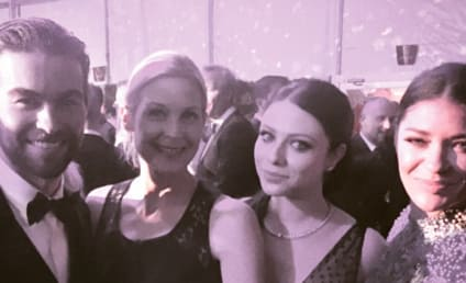 Gossip Girl Cast Reunites at Oscars Viewing Party: OMFG!