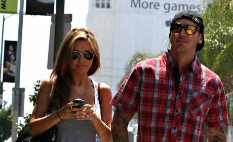 Audrina and Corey Photo