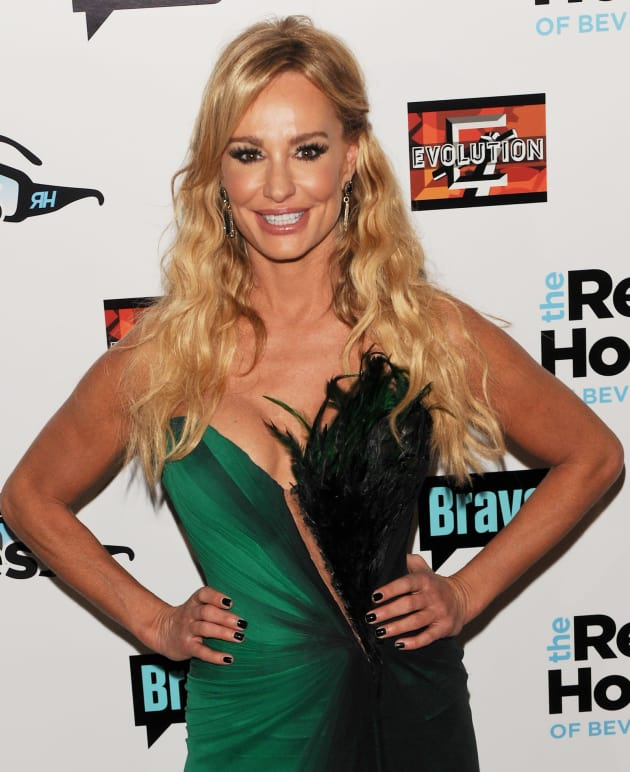 Taylor Armstrong at Housewives Premiere Party
