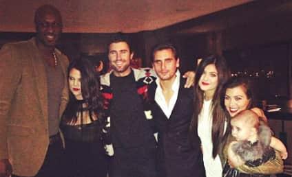 Brody Jenner Celebrates Kristmas with the Kardashians
