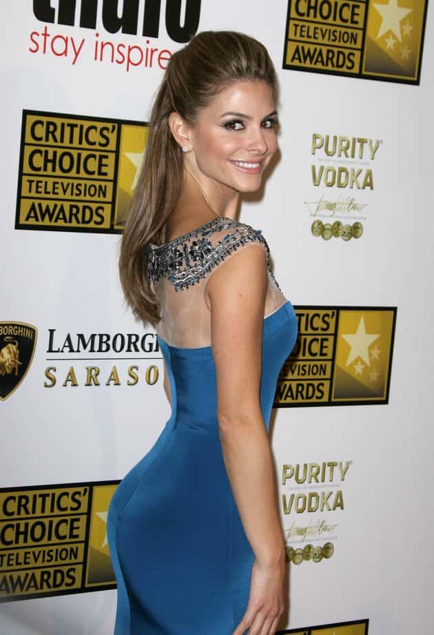 Maria Menounos in Blue