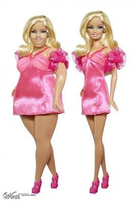Barbie Plus-Size Pic