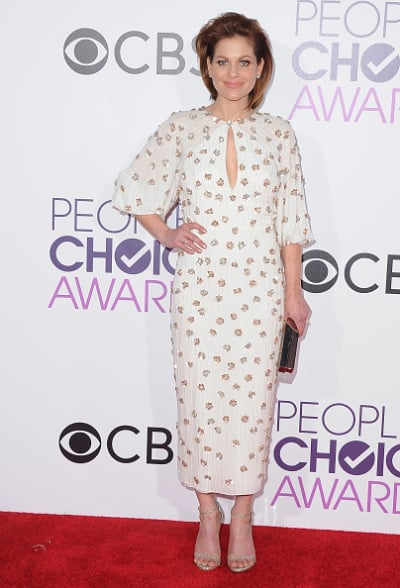 Candace Cameron Bure at the People's Choice Awards