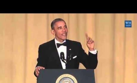 White House Correspondent's Dinner: President Obama Cracks Us Up